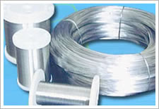 galvanized wire used for producing staple
