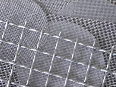 strong structure woven crimpled wire mesh for mine or construction