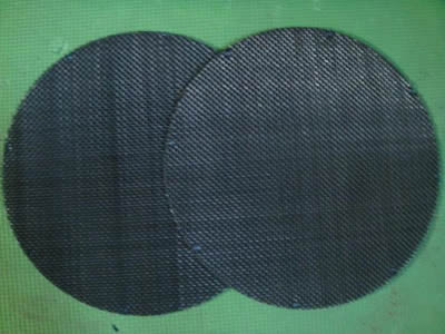 Plain weave and Twill weave black wire screen,GI crimped wire mesh/stainless steel crimped mesh