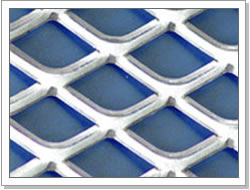 aluminum expanded metal sheet mesh/small, medium and heavy expanded metal mesh