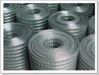 galvanized 1/2welded rebar wire mesh roll