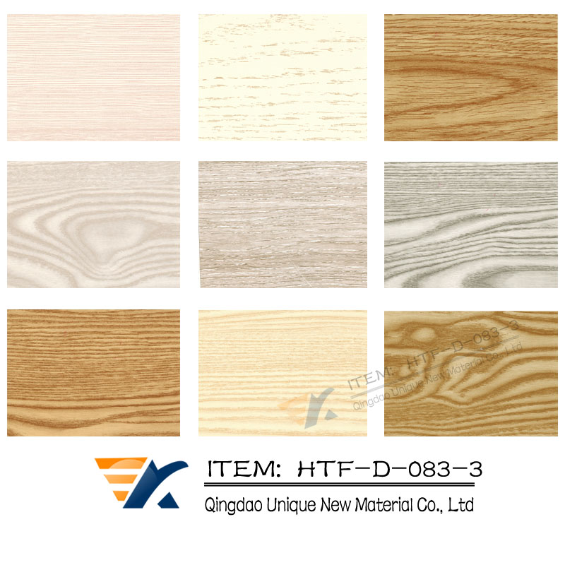 WPC wall panel heat transfer film,Wood grain transfer foil