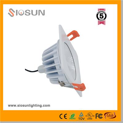 12W 5 Square And Round COB LED Downlights