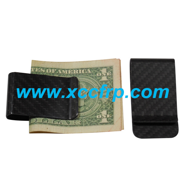 Hot sale 100% Real Blue Carbon Fiber Money Clip