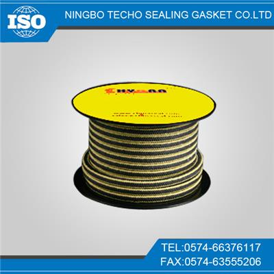 Zebra Aramid Teflon Cotton Fiber Graphite Sealing Packing