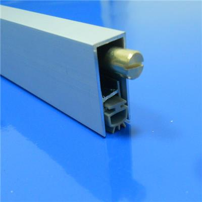 Wood Door Kerf Aluminum Automatic Drop bottom seal Weather Stripping