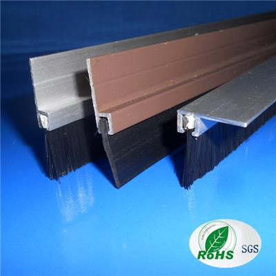 Wood Door Aluminum Sealing Strip And Bottom Sweep