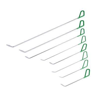 Car Paintless Dent Repair Tools 8 Pcs Green Pdr Rods