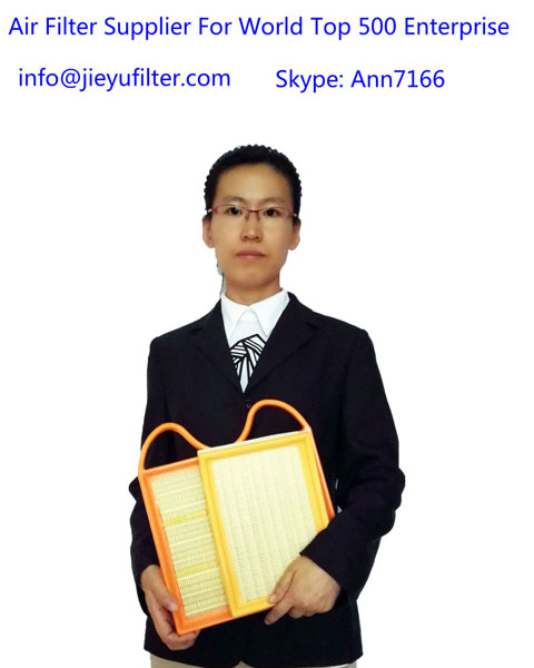 automobile air filter-jieyu automobile air filter 90%  export to the European and American market