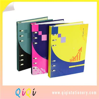Hardcover Professional Hardbound Binder Notebook With Elastic Band