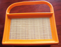 lawn mower air filter-China lawn mower air filter  90%  export to the European and American market