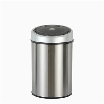 10.5G Brushed Stainless Steel Automatic Sensor Dustbin
