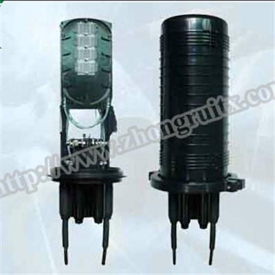 3in 3out Max Capacity 240 Dome Fiber Optic Splice Closure