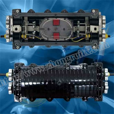 2in 2out Max Capacity 648cores Fiber Optic Splice Closure