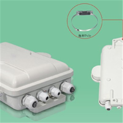 FTTH SC 12 Cores Wall Or Pole Mounting IP65 Fiber Box