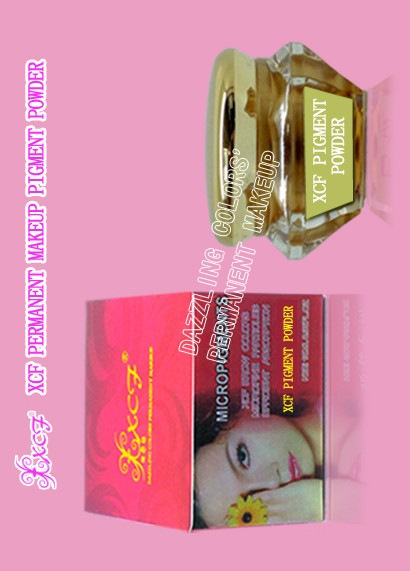 XCF PERMANENT MAKEUP PIGMENT POWDER WITH SINGLE PACKAGE