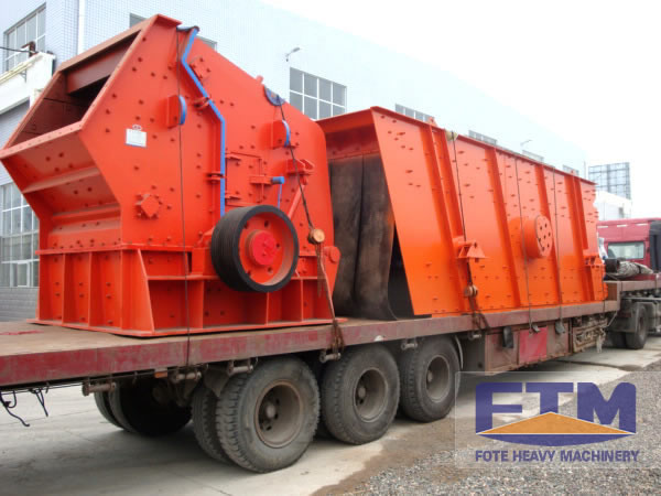 Building Materials Dolomite Impact Crusher For Expressway
