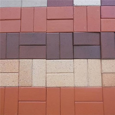 Light Structure Zeolite Ecological Water Permeable Brick With Resistance Acid And Easy Maintance Features