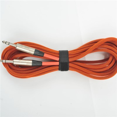 6.35 Male To 6.35 Male AUDIO XLR CABLE