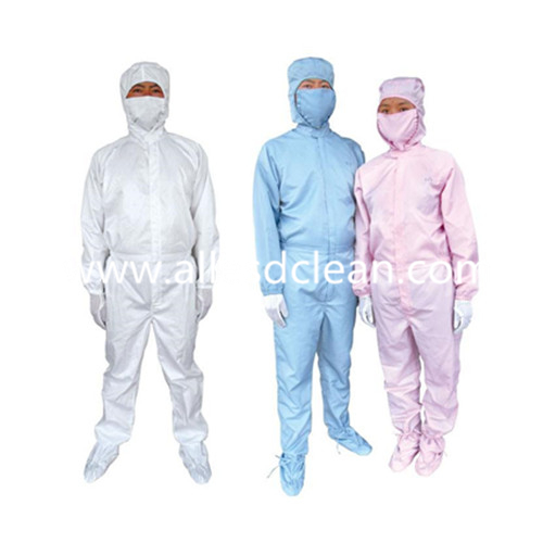 Cleanroom Coverall Antistatic Garments for Working