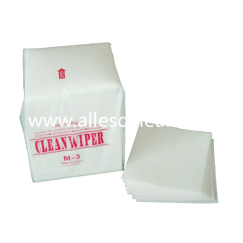 Cleanroom Non-Woven Wiper M-3 Cleaning Wipes