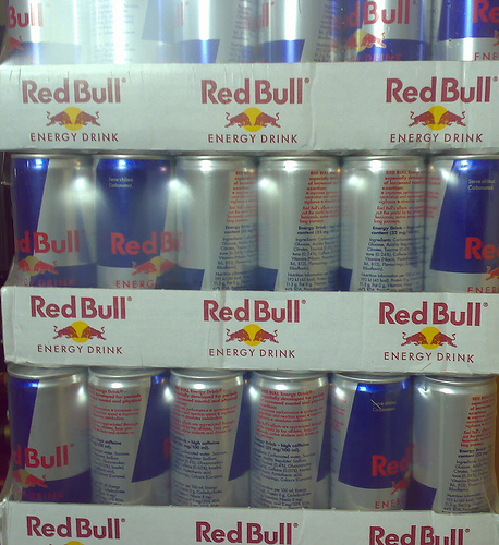 REDBull Energy Drink Red / Blue / Silver