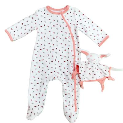 100% Cotton Baby Romper Long Sleeve Non-additive