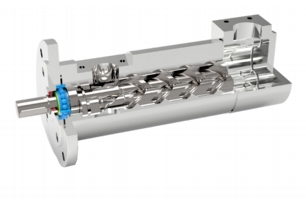 Compact Structure Triple Screw Pump