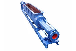 Dewatered Sludge Screw Pump