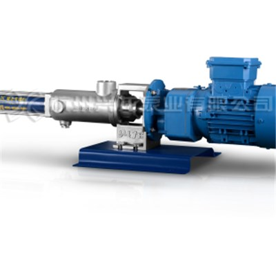 Mini Metering And Dosing Single Screw Pump