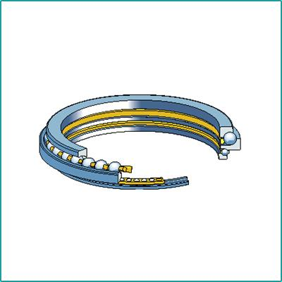 Double Direction Angular Contact Thrust Ball Bearings