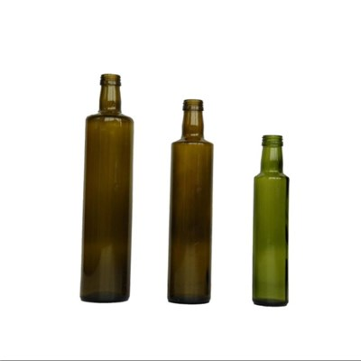 Round Oil Glass Bottle