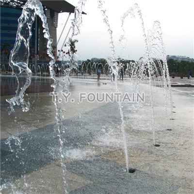 Plaza Water Fountain