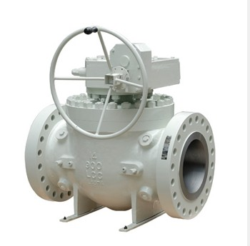 Carbon Steel Flanged End Top Entry Ball Valve