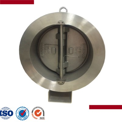 Retainless Wafer Type Dual Plate Swing Check Valve