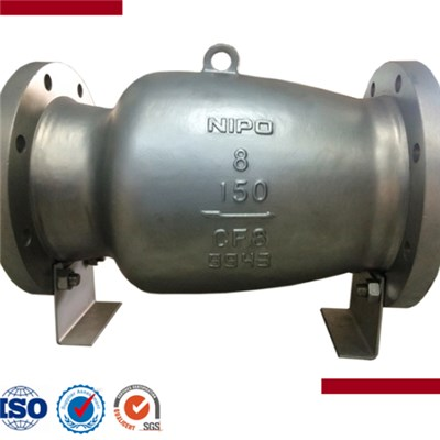 Carbon Steel Flanged Nozzle Check Valve