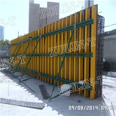 Timber Beam System Wall Formwork