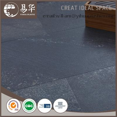 WPC Click Flooring With Stone Emboss
