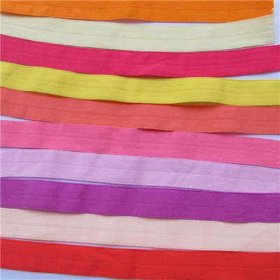 Fold Over Multirole Elastic Spandex Satin Band Accessories