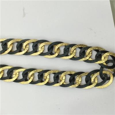 Fashion Decorative Chain Tape metal chain trims