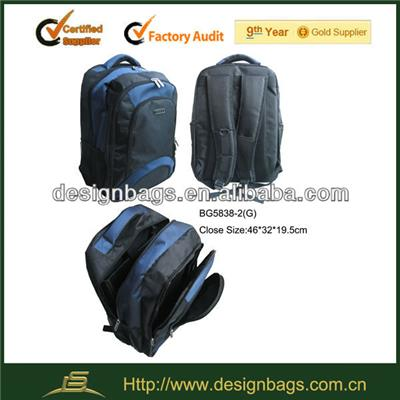 Nylon Backpack With Laptop Pocket