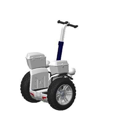 Updated Balance Scooter CHIC-JAZZ P1 2 Wheel Electric Scooter For Security Patrol