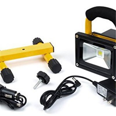 10W High Power LED Rechargeable Portable Flood Lamps Lights