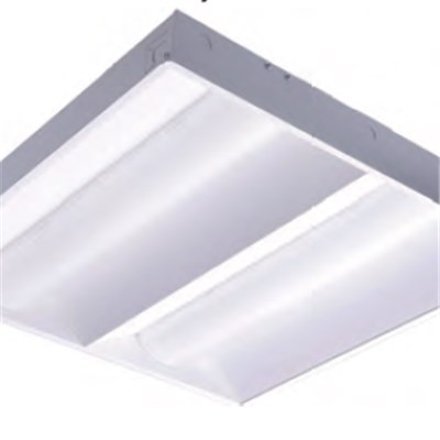 2x4 2x4 New Arrival High Qualuty Dimmable LED Retrofit Kits Volumetric To Fluorescent Troffer Light Double Lens