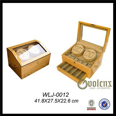 15 Watches Glass Top Wooden Watch Box
