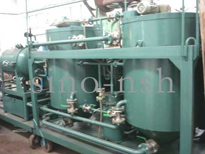 engine oil purification motor oil recycling lube oil regeneration oil purifier
