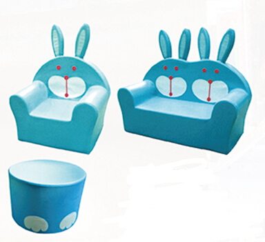 Animal Design Kids Mini Bedroom Sofa Sets