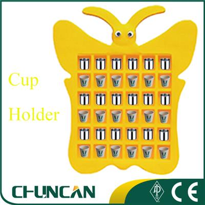 Kids Plastic Tea Cup Rack