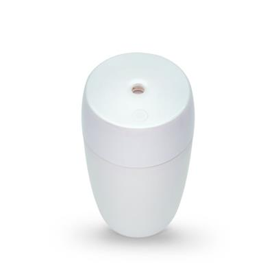 Office Humidifiers 240ml Water Bottle Plastic White Easy To Clean Cool Mist Led Ultrasonic For Dry Air