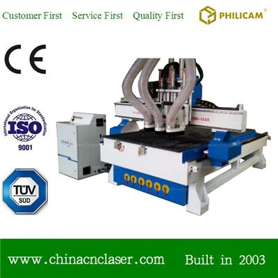 ATC CNC Router Machine For Making Kitchen Cabinet Door